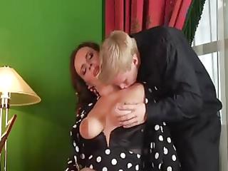 chap cum twice in her hot mamma