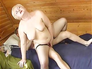 russian boy fucking a plumper aged