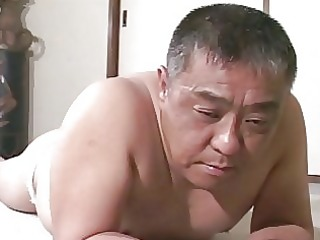 mature oriental lad receives drubbing