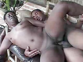 black granny fucked by youthful chap