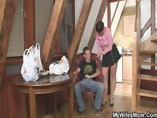 horny mamma copulates her daughters bf