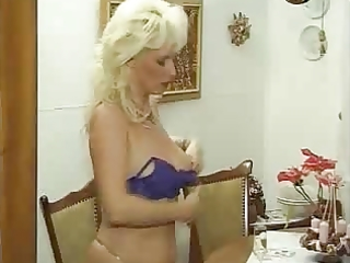 german perverted mature woman in nylons fucks her