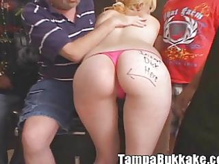 anal licking wazoo to throat wife bukkake
