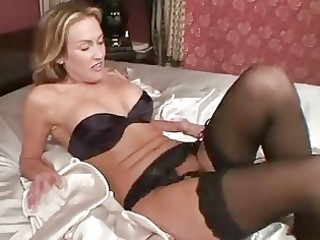 aged in nylons toys her cookie