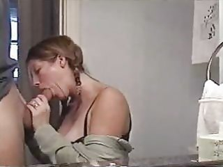 sexy mama engulfing large schlong and swallowing