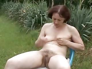 granny outdoors