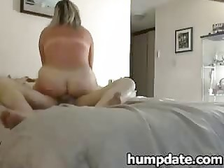 Mature babe rides cock and gets fucked hard