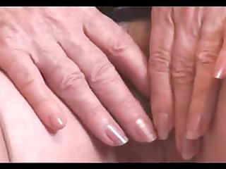 granny show her hairy corpulent vagina