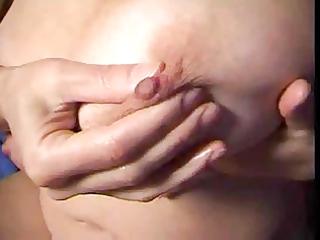 breasty mum enjoys her body