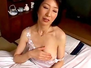 milf masturbating with fake penis having