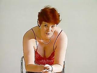 older german lady shows off clip
