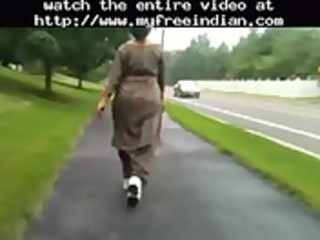 older desi booty walking indian desi indian