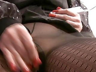 d like to fuck masturbating in hose and boots